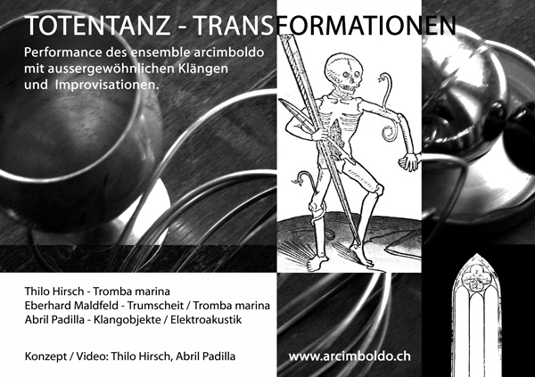 ensemble arcimboldo, Totentanz-Transformationen